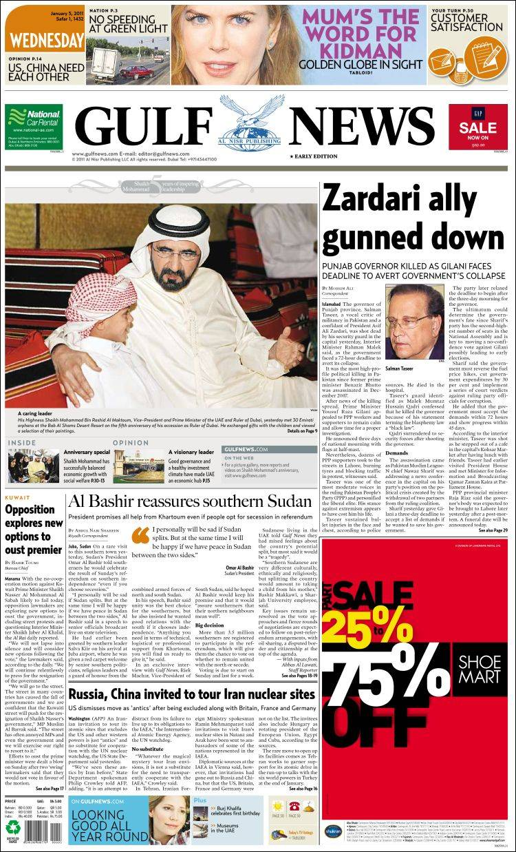 opinions on gulf news