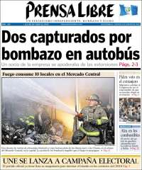 Portada de Prensa Libre (Guatemala)