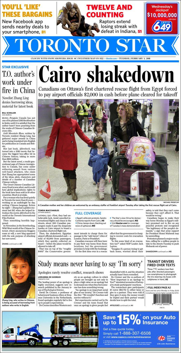 Toronto Star  thestarcom  The Star  Canadas largest daily
