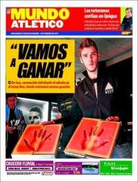 Portada de Mundo Deportivo Atletico (España)
