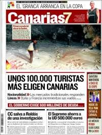 Portada de Canarias 7 (Spain)