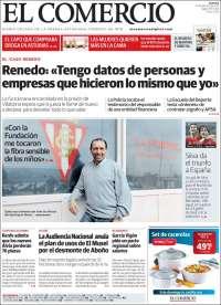 Portada de El Comercio - Gijón (Spain)