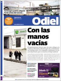 Portada de Odiel Información de Huelva (Spain)