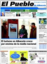 Portada de El Pueblo de Albacete (Spain)