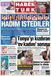 Portada de Habertürk (Turkey)