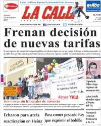Portada de Diario La Calle (Venezuela)