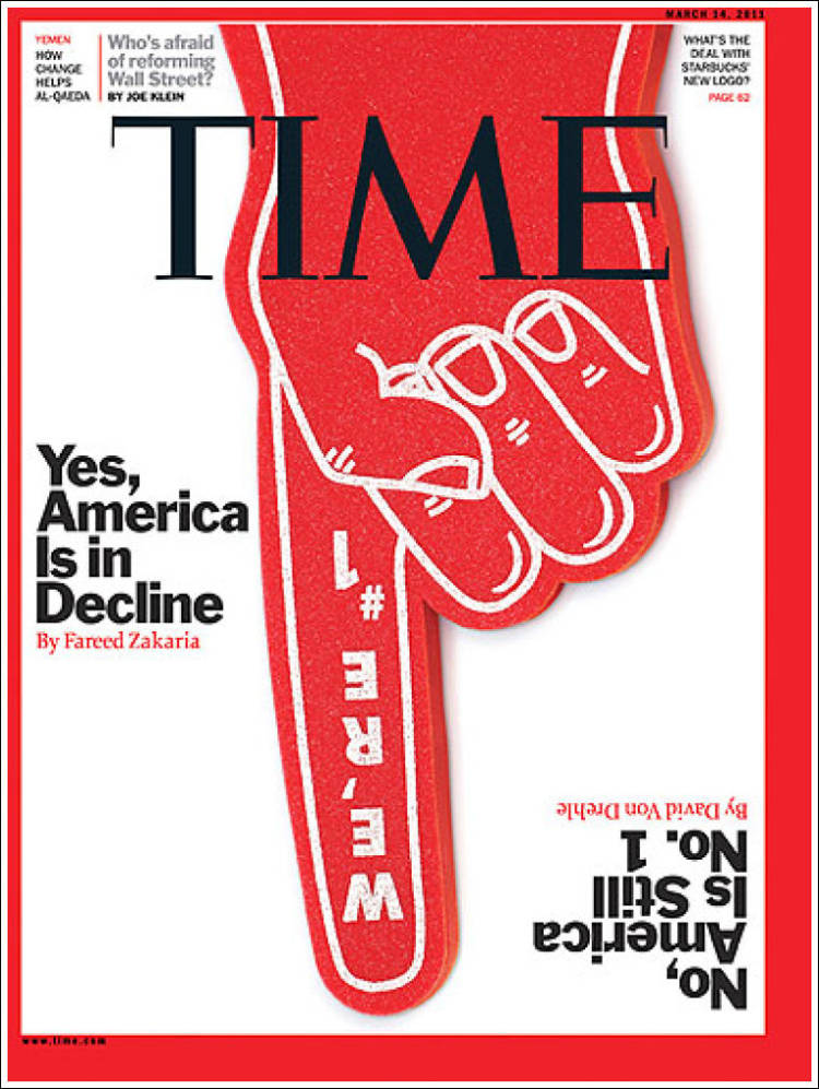 Portada de Time Magazine (USA)