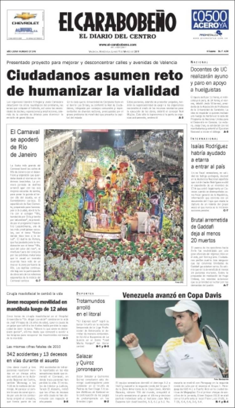 Diario El Carabobeo Edicin Impresa | Autos Weblog