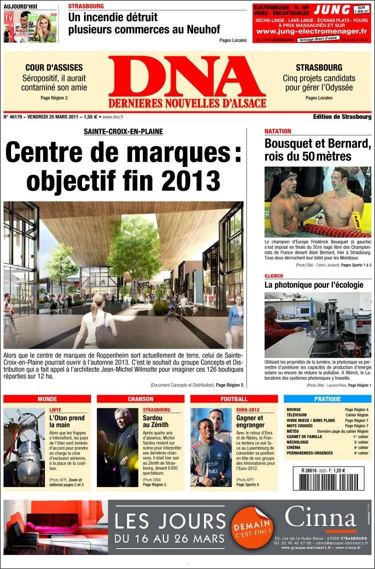 DNA+Journal+Alsace les dernières nouvelles d alsace france alsace ...
