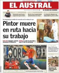 Portada de El Australo - Diario de Osorno (Chile)