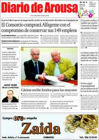 Portada de Diario de Arousa (España)