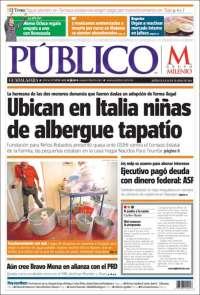 Portada de Público (México)