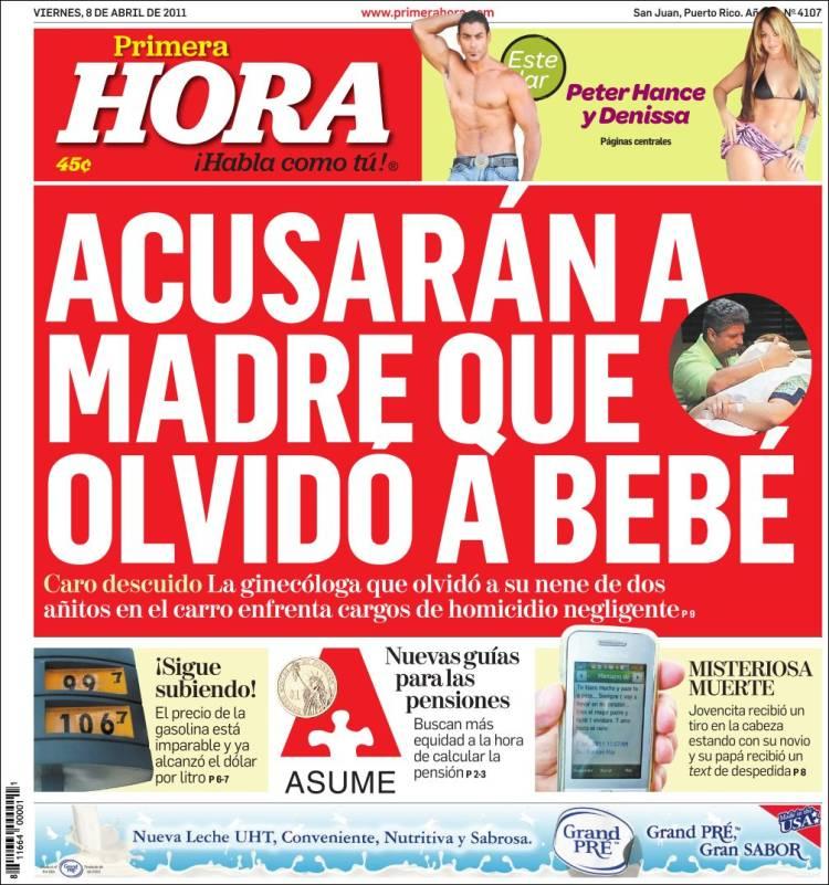 Newspaper Primera Hora Puerto Rico Newspapers In Puerto Rico