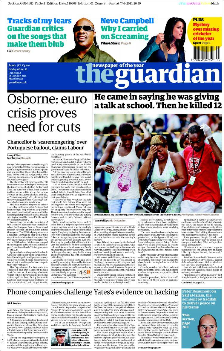 guardian paper Read the latest news in nigeria, africa and the rest of the world the guardian nigeria brings you up-to-date news story from across the world.