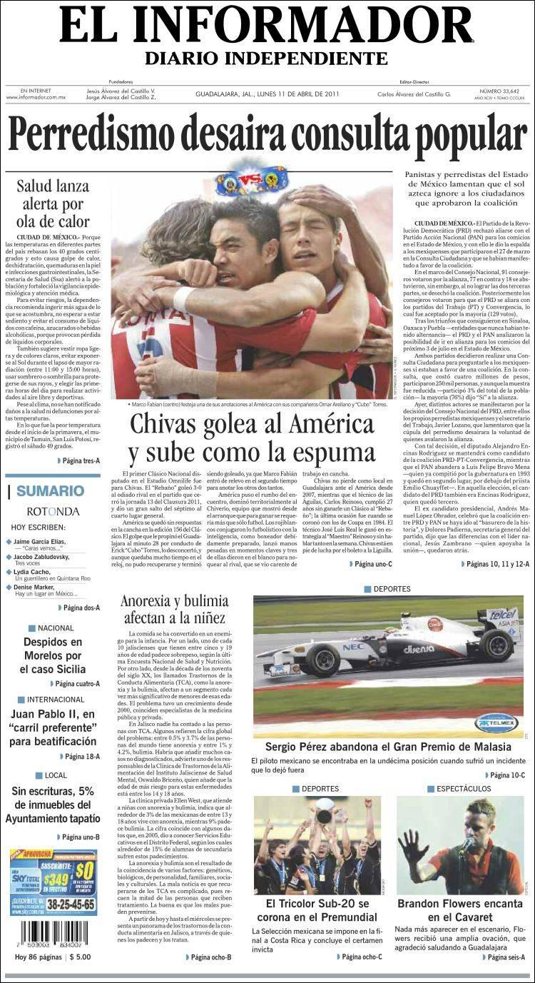 El Informador Noticias De Jalisco Mxico Deportes