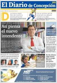 Portada de Diario de Concepción (Chile)