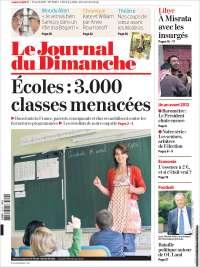 Portada de Le Journal du Dimanche (Francia)