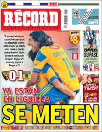 Portada de Record - Monterrey (México)