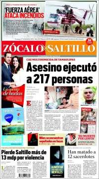 Zócalo de Saltillo