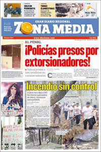 Portada de Zona Media (México)