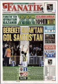 Portada de Fanatik (Turquía)