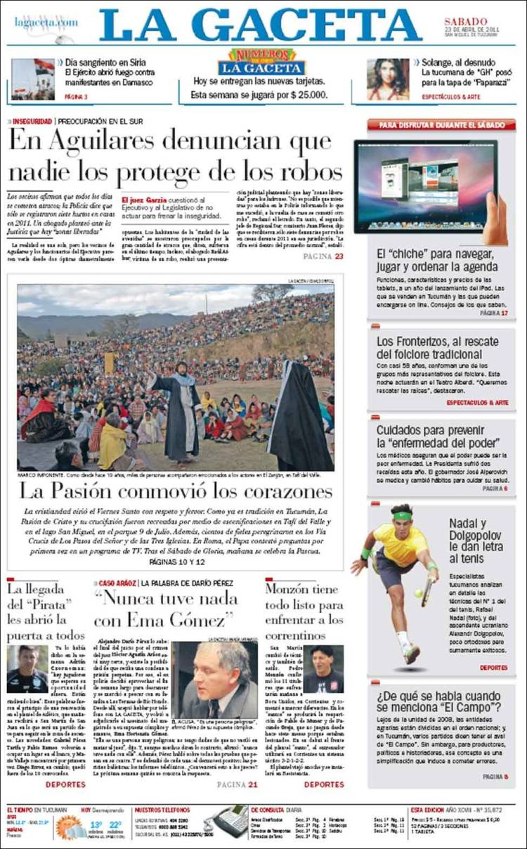 La gaceta noticias tucuman argentina share the knownledge - La gaceta tucuman ...