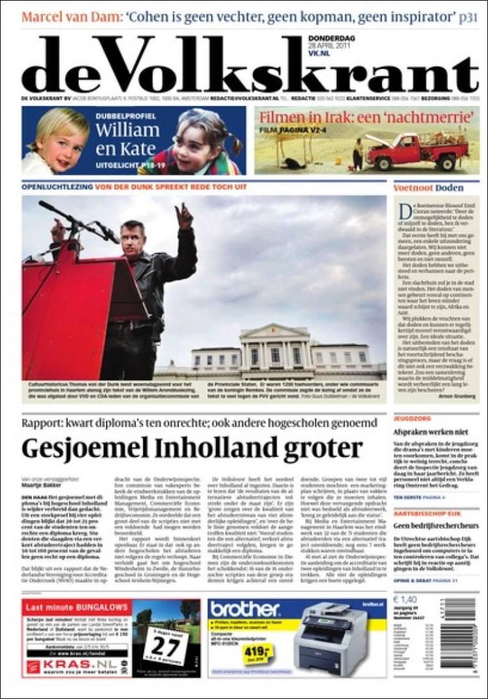 Niederlande Zeitung De Volkskrant