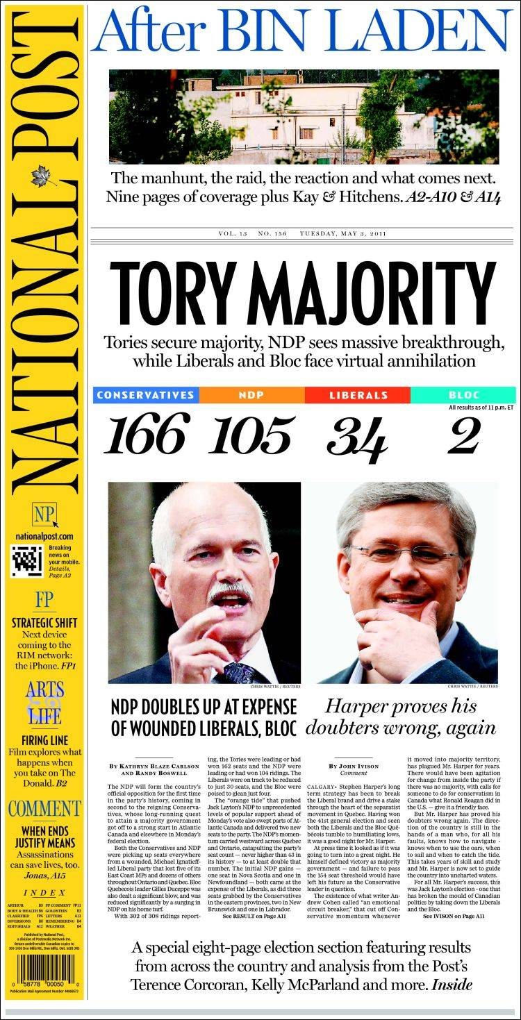 canada national post latest edition