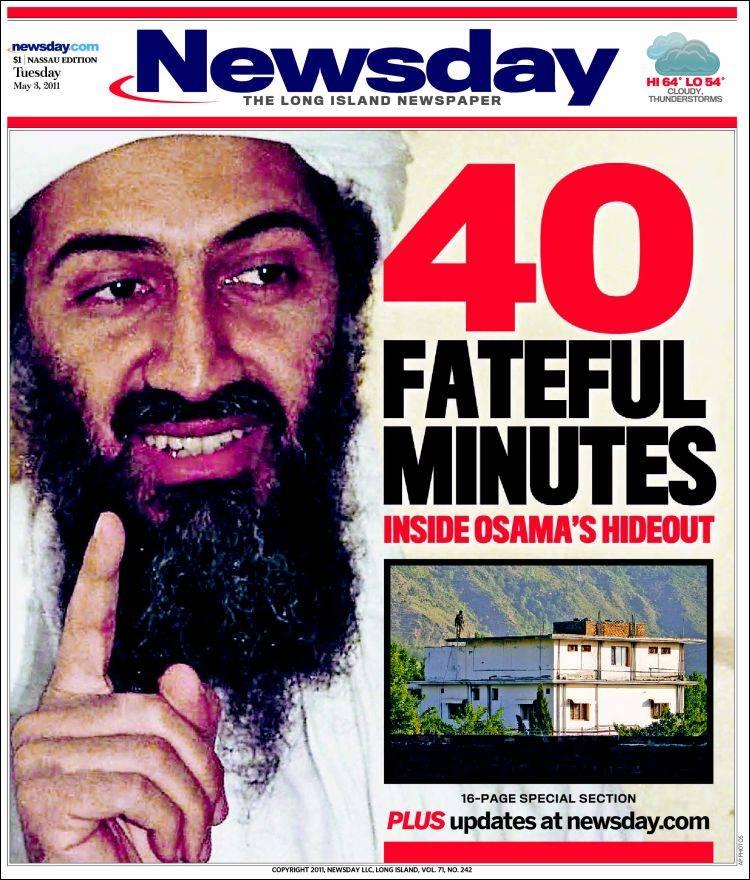New York Daily News Tuesday: Newspaper Newsday (USA). Newspapers In USA. Tuesday's
