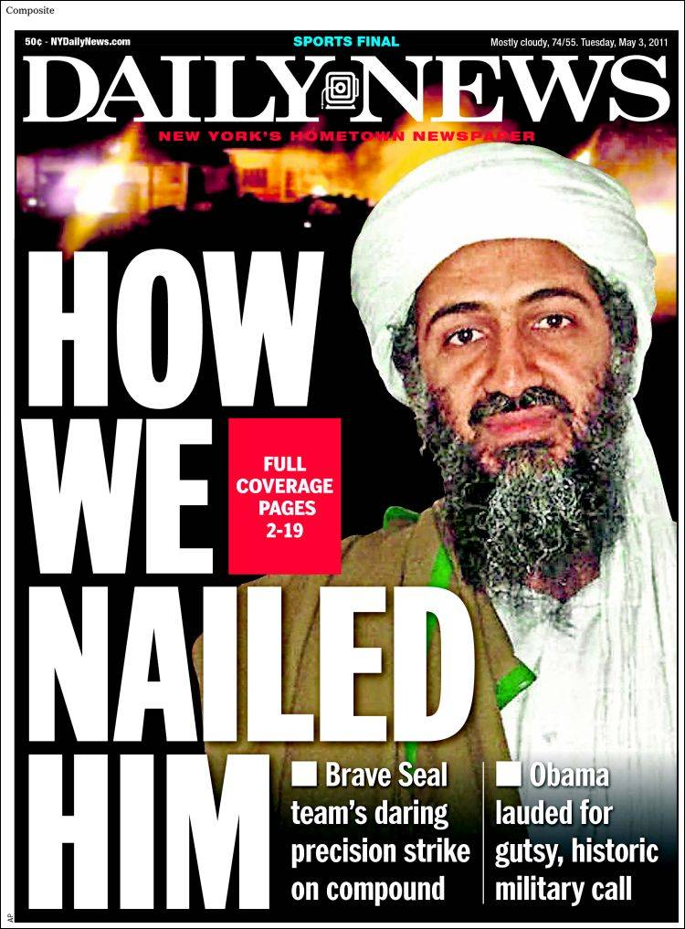 Newspaper Daily News - New York (USA). Newspapers in USA ...