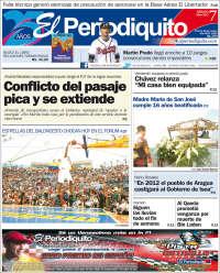 Portada de Periodiquito (Venezuela)