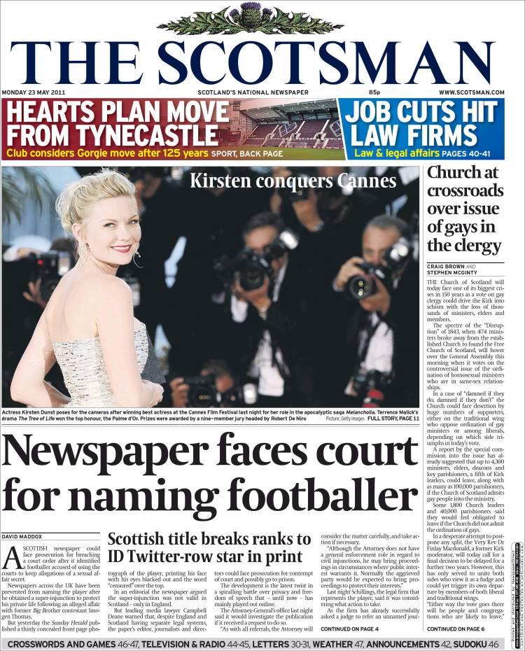the scotsman newspaper uk