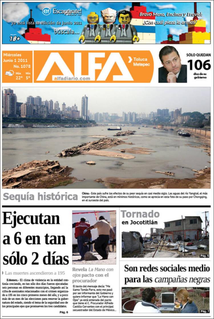 Portada de Alfa (México)
