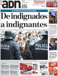 Portada de ADN - Sevilla (España)