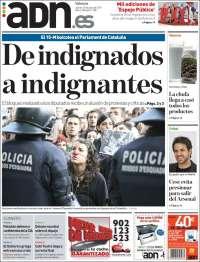 Portada de ADN - Valencia (España)