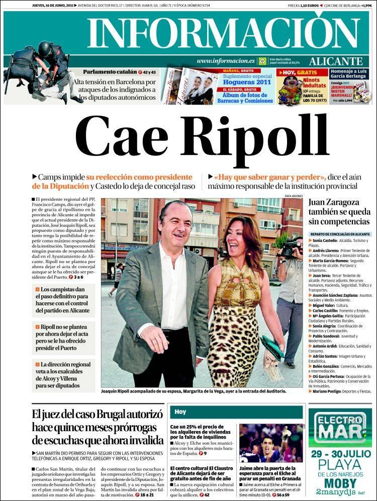 Peri dico diario informaci n espa a peri dicos de for Chimentos de hoy en argentina