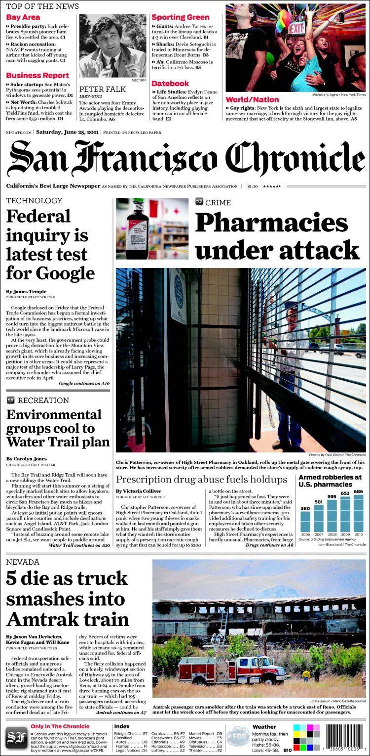 San Francisco Chronicle.html | Autos Weblog