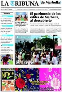 Portada de La Tribuna de Marbella (España)