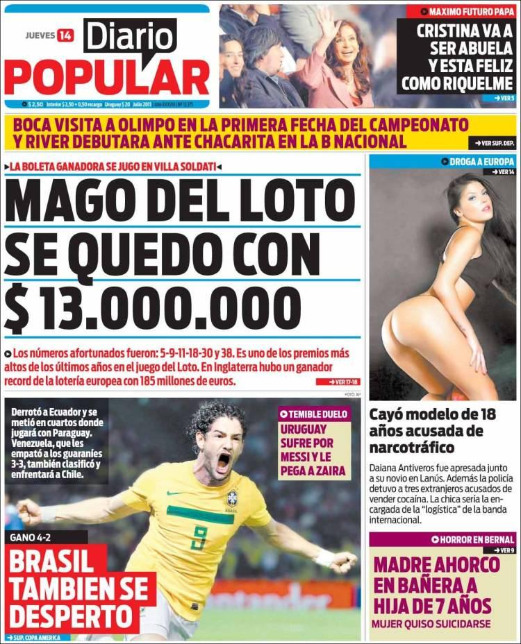 De argentina edici 243 n de jueves 14 de julio de 2011 kiosko net