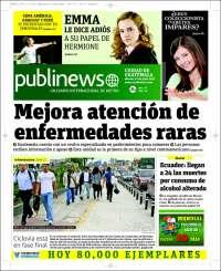 Portada de Publinews (Guatemala)