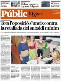 Portada de Public (España)