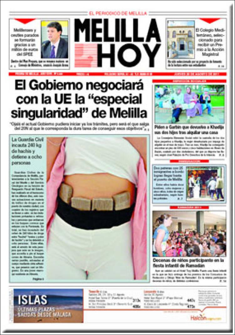 Melilla hoy diario melilla hoy prestamos banco santander for Oficina correos melilla