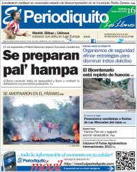 Portada de Periodiquito de Guárico (Venezuela)