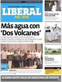 Portada de El Liberal del Sur (México)