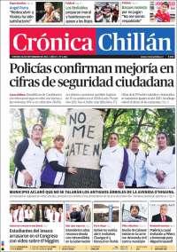 Portada de Crónica (Chile)