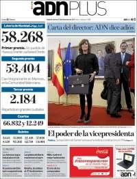 Portada de ADN - Madrid (Spain)