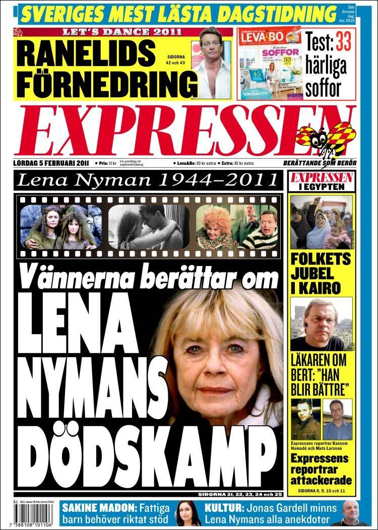 Dagens Expressen   Expressen   Senaste nytt - Nyheter